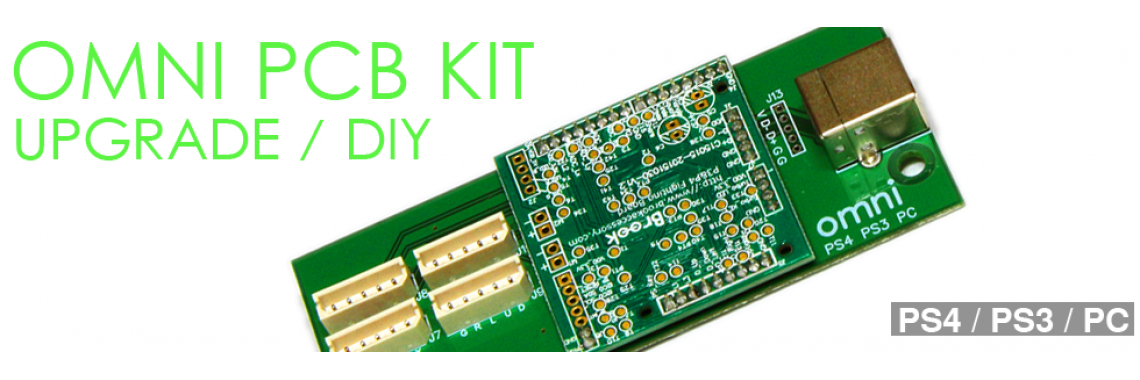Omni PCB Kit -PS4 PS3 PC-