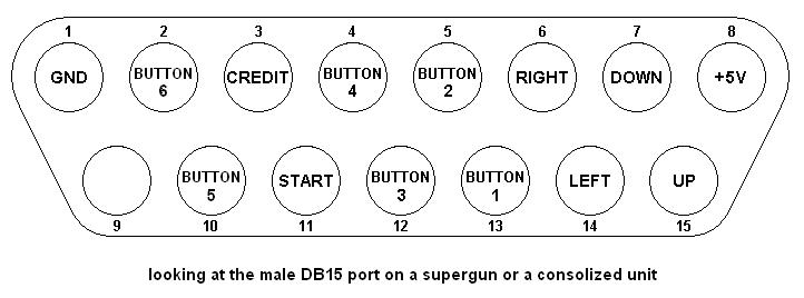 db15_laugh neo geo arcade stick wiring diagram wiring diagram